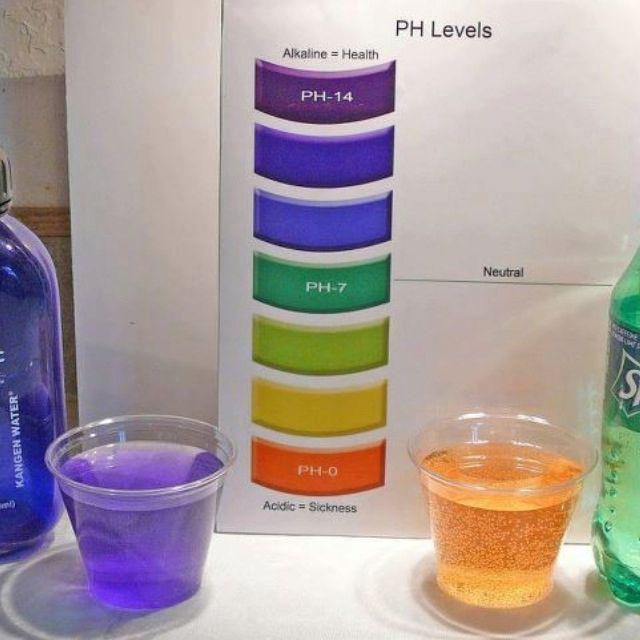Kangen Water On Left And Sprite On The Right Notice The Acidity Level Of The Sprite Kangen Water Kangen Alkaline Water