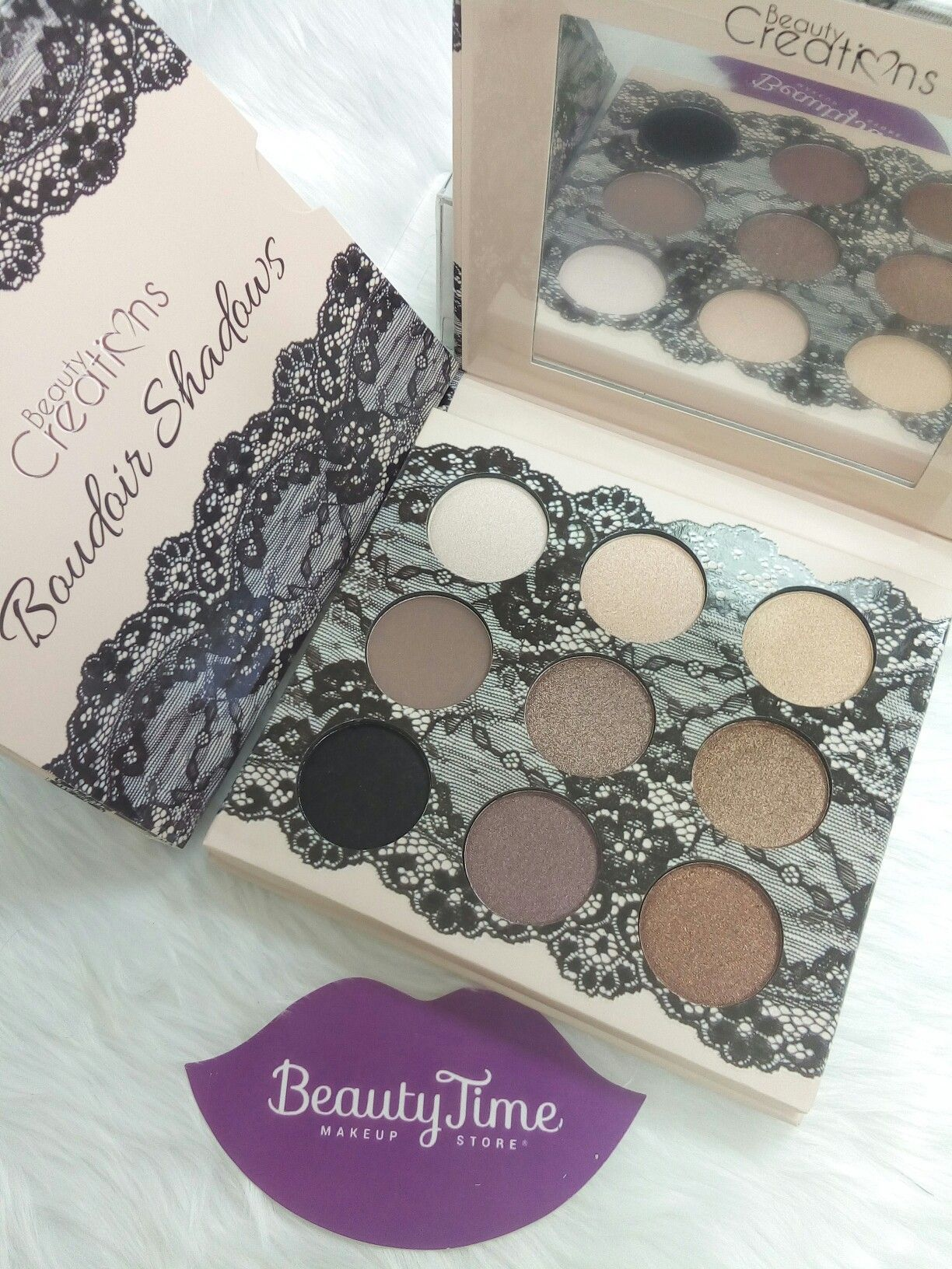 Eyeshadow palette Beauty Creations cosmetics Instagram