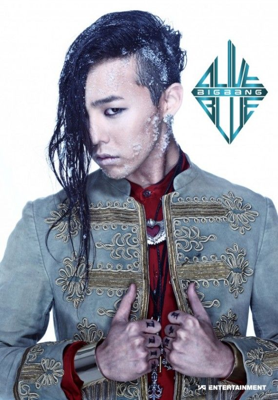 G Dragon S Side Swept Undercut Insanely Styled Seaweed Hair Bigbang G Dragon G Dragon Hairstyle