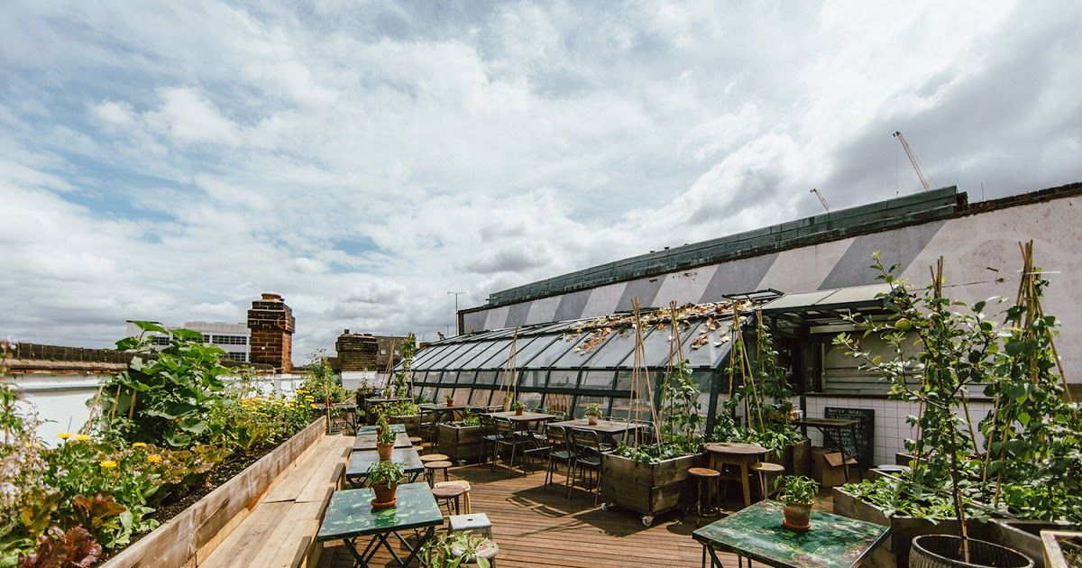 Rooftop Bar With Garden London Rooftop Bar Rooftop Garden