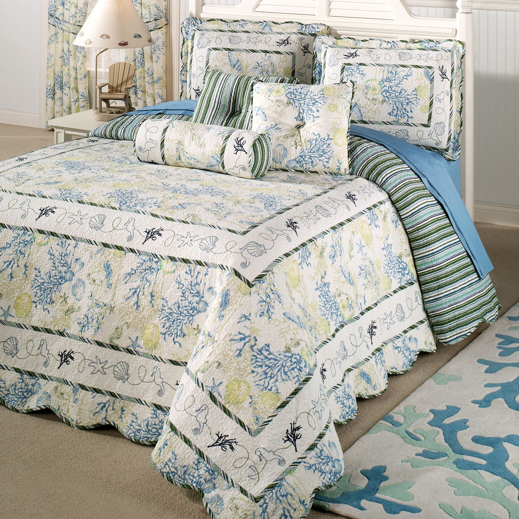 and quilt sanalee navy info bedding uk quilted white twin bedspread