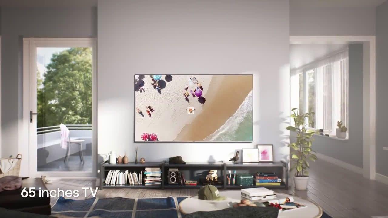 Samsung Super Big Tv Size Comparison Of 2018 Super Big Tvs Commercial Tv Spot 2018 Big Tv Tv Ads Tv Commercials