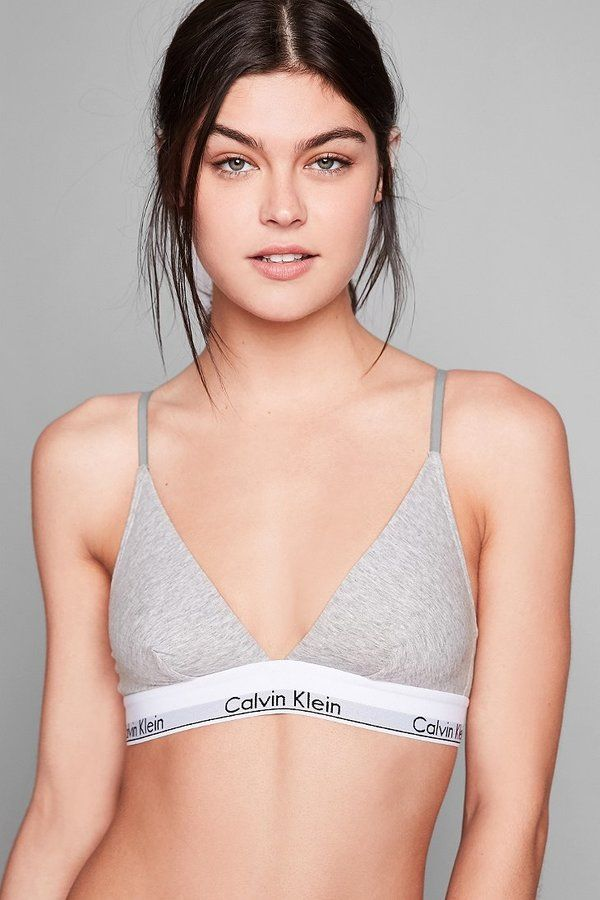 ac6a7301cb Calvin Klein Modern Cotton Triangle Bra ( 36)    as seen on Ariana Grande in  the music video for Mac Miller – My Favorite Part.
