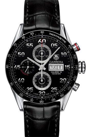 b2c02dfec48 TAG Heuer  Carrera  Automatic Tachymeter Watch Acessórios Masculinos