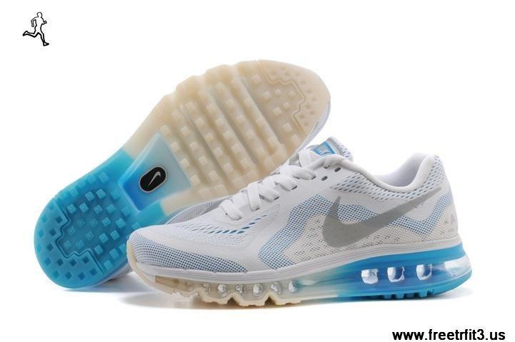 Comprar Zapatos Nike Air Max 2014 Mujeres Zapatos Comprar Blanco Azul Sky Shoooeess b5e9a9
