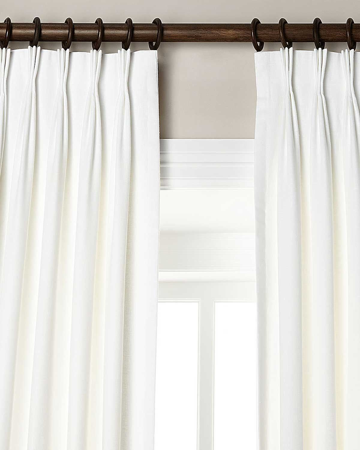 Robot Check Pinch Pleat Curtains Pinch Pleat Drape Pleated