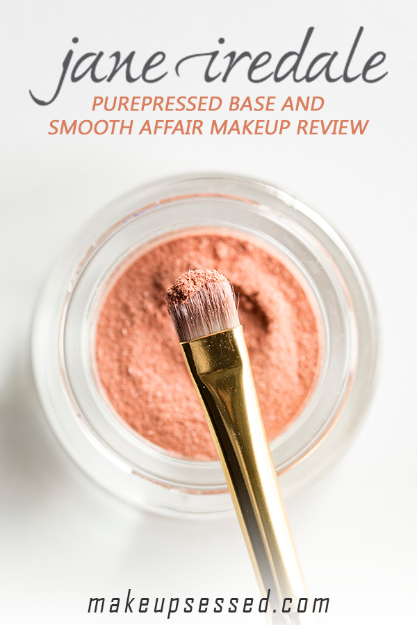 Jane Iredale PurePressed Base and Smooth Affair Makeup