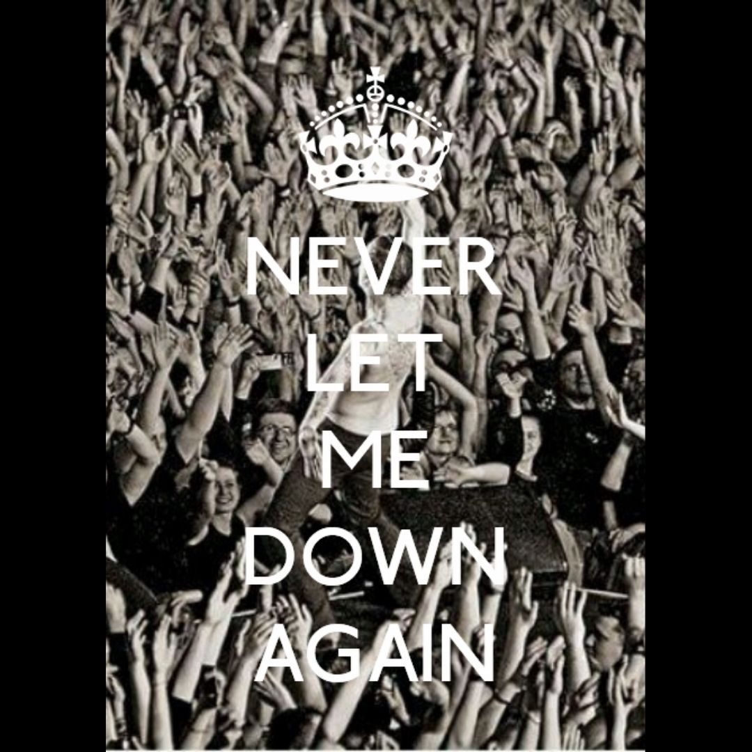 #DepecheMode #NeverLetMeDownAgain