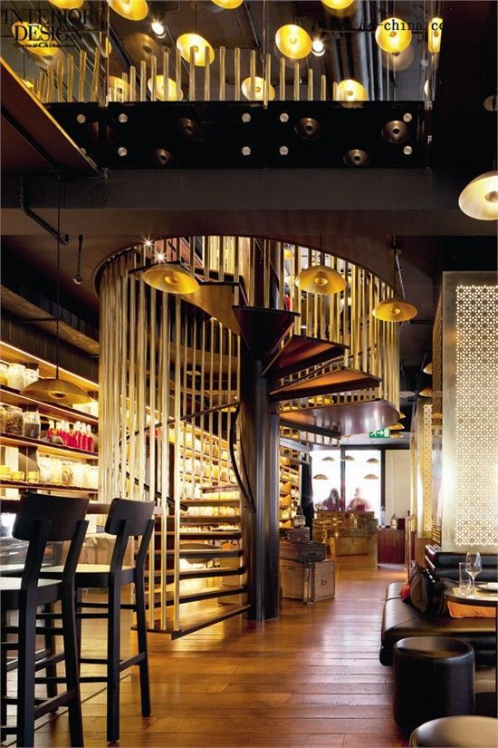 Image result for spiral staircase restaurant | Restaurant ...