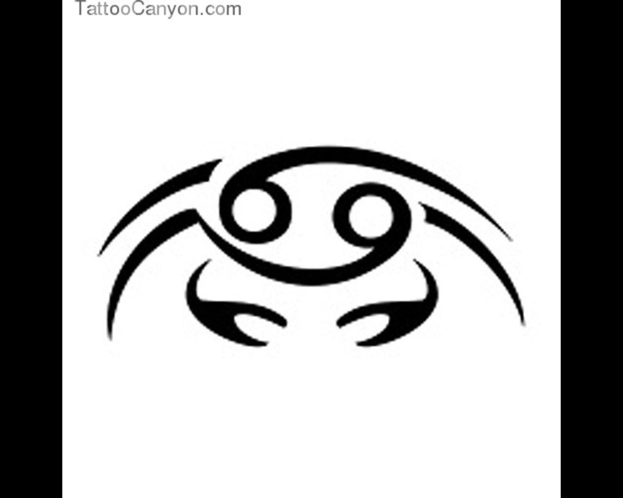 Sign tattoo designs - Photos 929 Cancer Zodiac Sign Tattoo Tattoo Design 1280x1024 Jpg