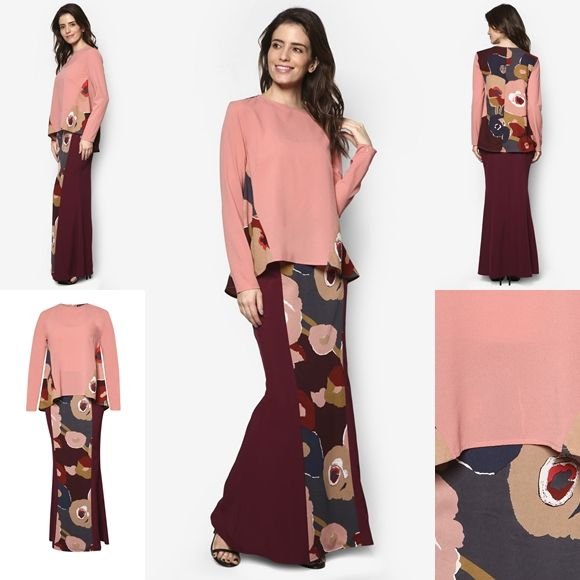Fesyen Baju Kurung Moden Terkini 2016 2017 Design By