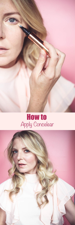 5 STEPS FOR APPLYING UNDER EYE CONCEALER FOR WOMEN OVER 40