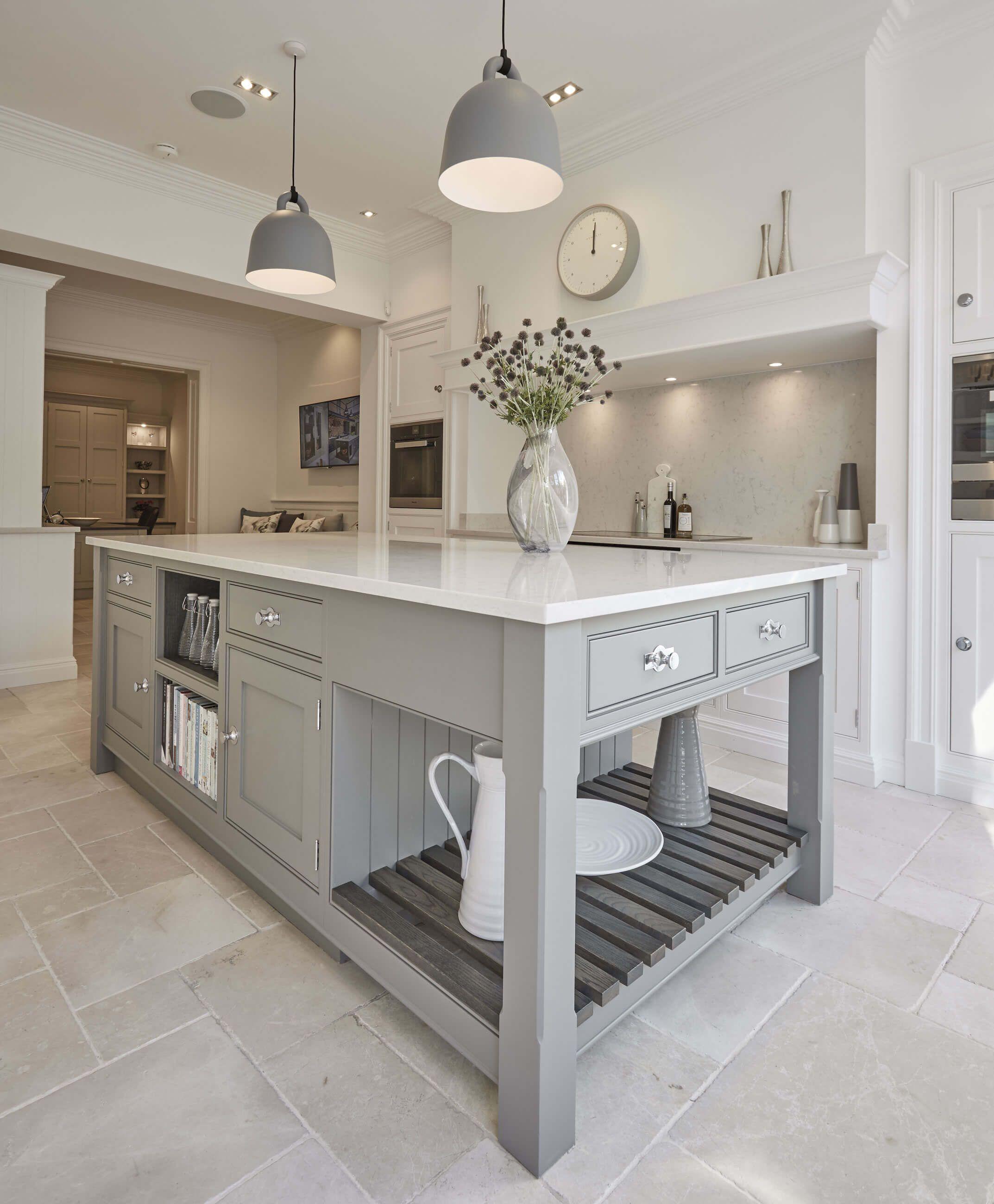 Grey Shaker Kitchen Grey shaker kitchen, Kitchen design