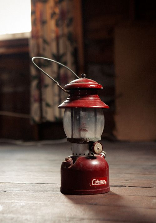 Wish I had all the old Coleman equipment my mom and I used when we went camping.