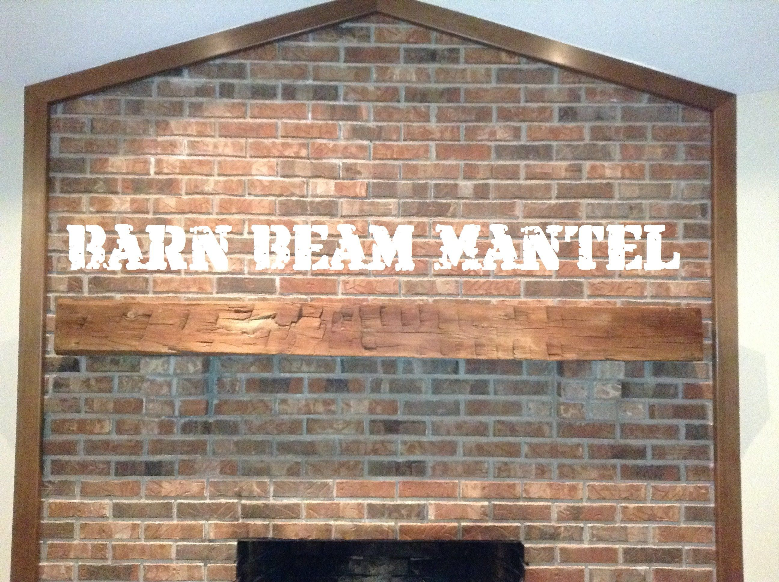Wondrous How To Install A Fireplace Barn Beam Mantel French Cleat Download Free Architecture Designs Momecebritishbridgeorg