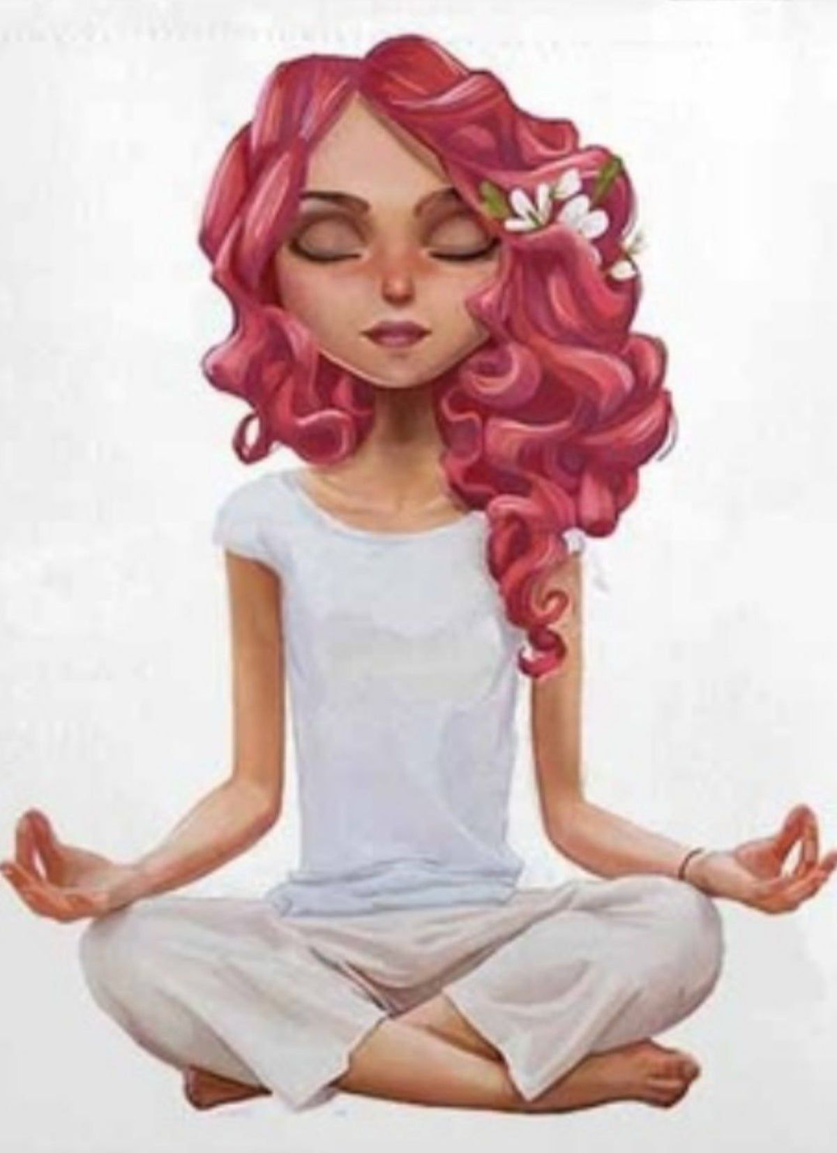 Beautiful Yoga Meditation Pillow 18x18 In 2020 Yoga Cartoon Yoga Illustration Yoga Drawing