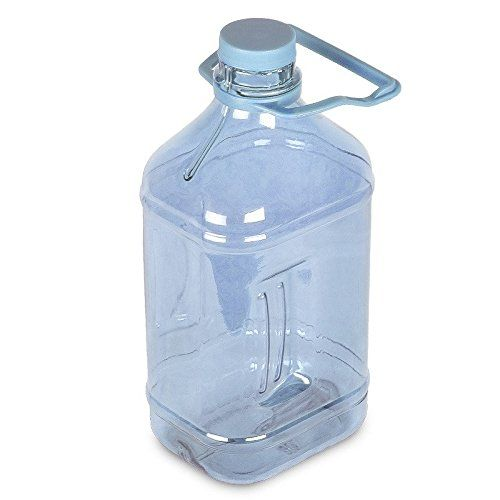 12 Gallon 64 Oz Polycarbonate Plastic Water Bottle W Handle 48mm Cap Natural Blue Continue To The Product At The Im Fancy Water Bottles Bottle Water Bottle