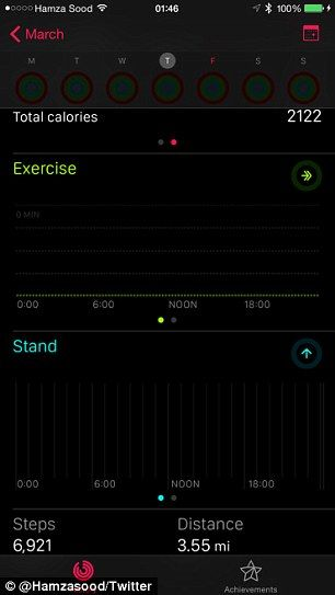 Secret app on your iPhone Fitness app only visible with