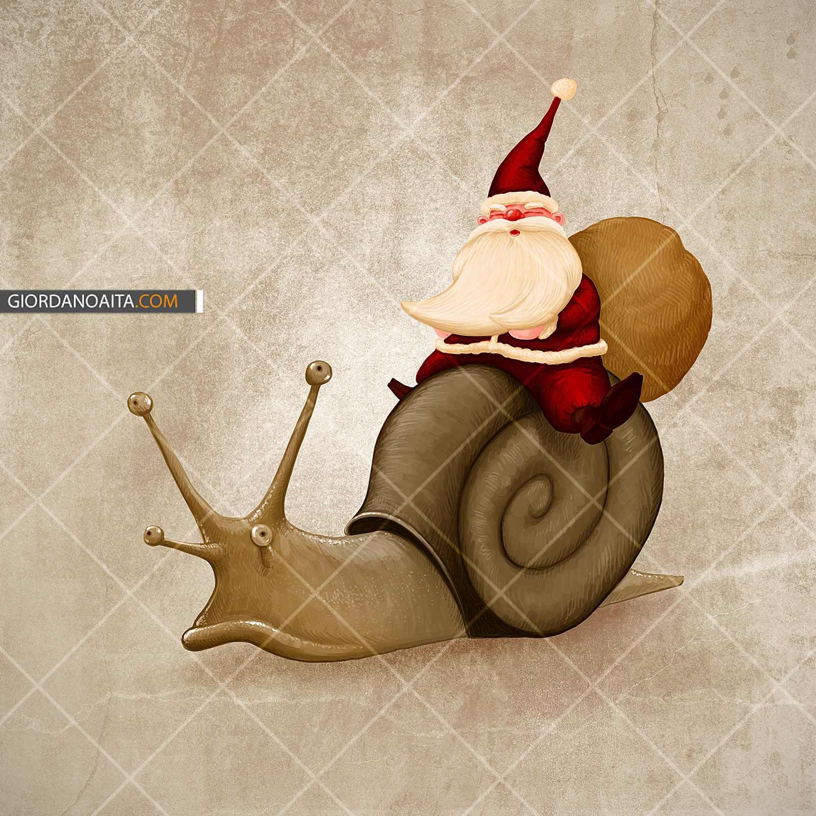 Santa slow! - © Giordano Aita - All right reserved     http://it.fotolia.com/p/120313/partner/120313