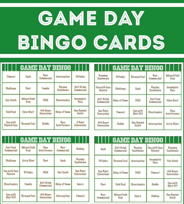 graphic relating to Free Printable Football Bingo Cards identify Free of charge printable soccer bingo playing cards, great thought for Tremendous
