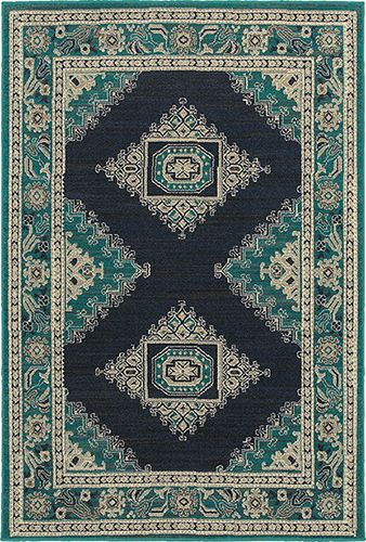 A bold, rich rug that will add a vibrant feel to your home. Pair with modern furniture for an interesting contrast.