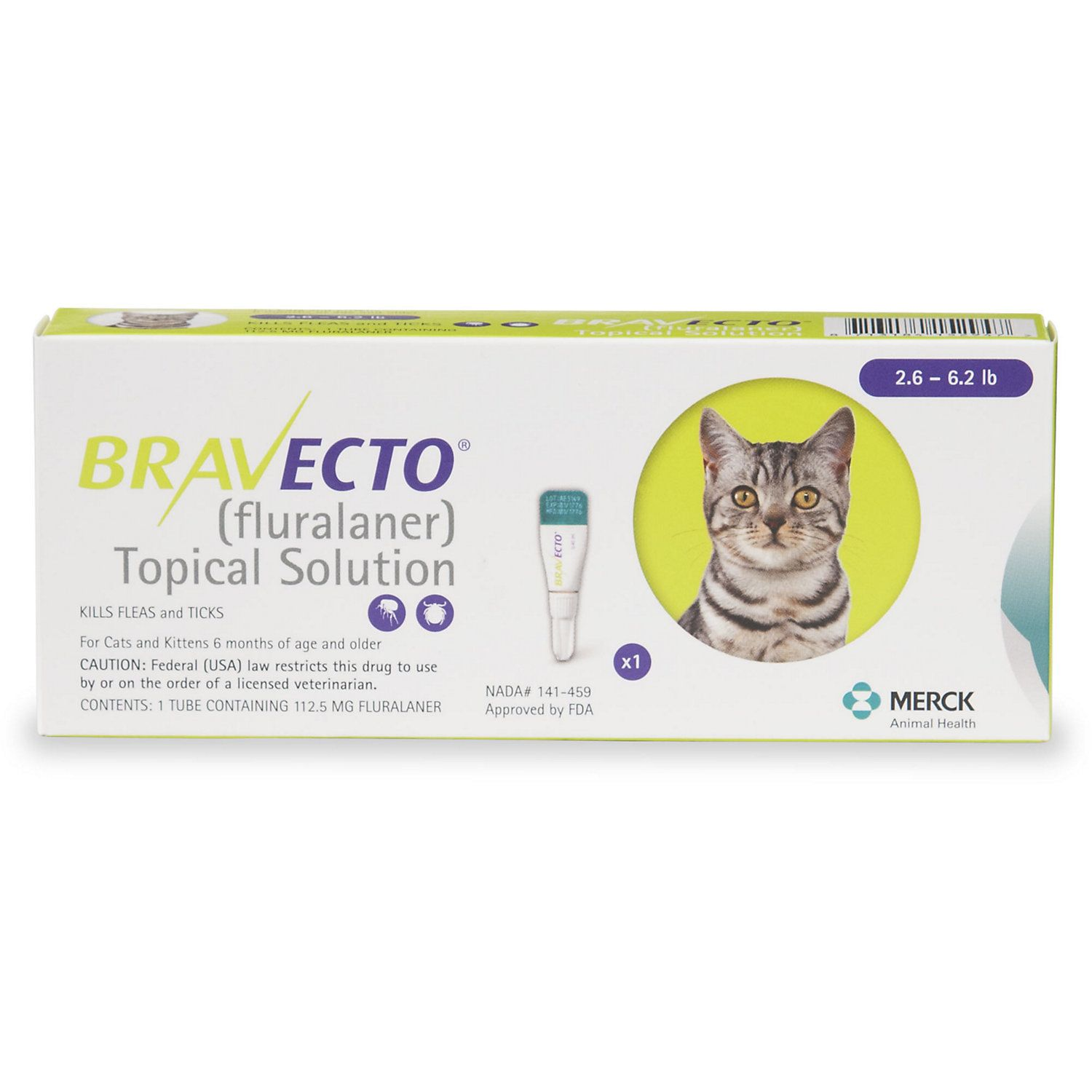 Bravecto Topical Solution For Cats 2 6 6 2 Lbs Single 12 Week Dose Cat Fleas Cats Cat Skin
