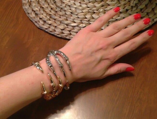 Talon bracelet from amybruni.net