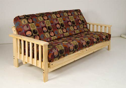 Complete Futon Set Solid Wood Frame