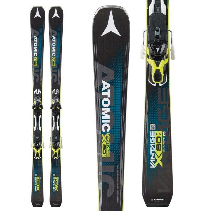 Atomic Vantage X 80 CTI Skis + Warden 13 MNC Bindings 2017