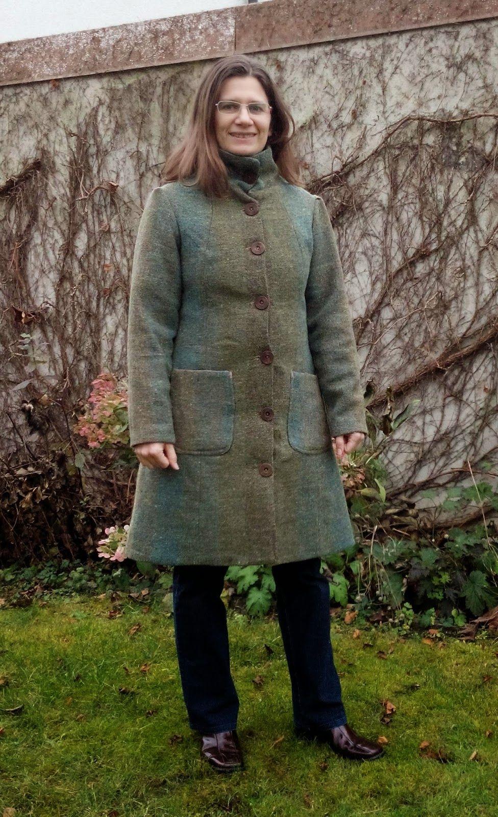 Tweed mantel nahen