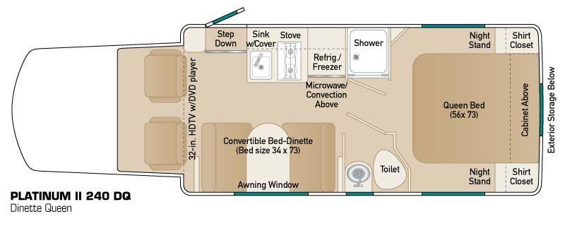 Class b plus rv floor plans thefloors co for Coach house floor plans
