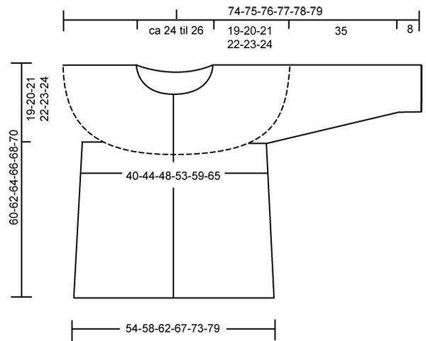 "DROPS 108-46 - DROPS jakke med rundt bærestykke i ""Alpaca"" og ""Vivaldi"". Str S - XXXL. - Free pattern by DROPS Design"