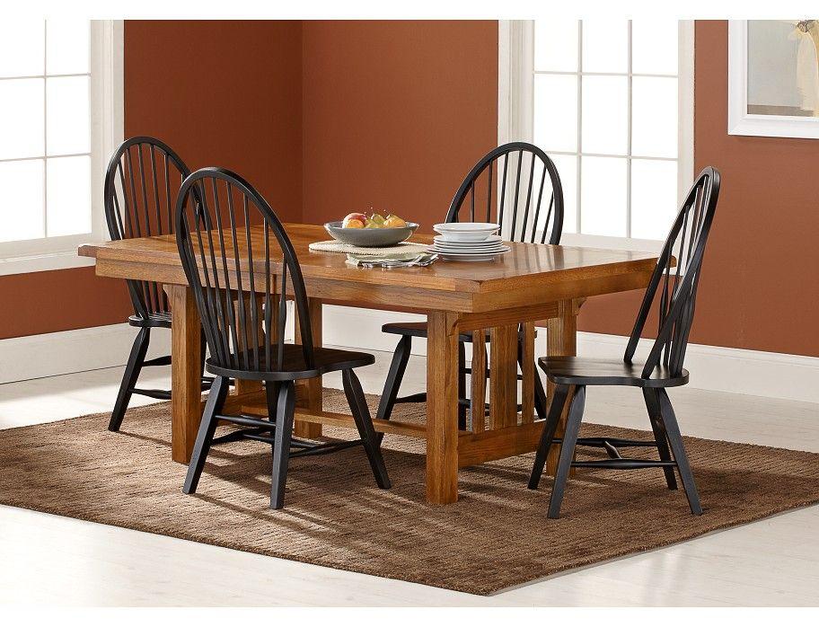 Slumberland  Keepsakes Collection  5 Pc Set W Black Chairs  Our Custom Slumberland Dining Room Sets Design Inspiration