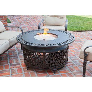Costco Cast Aluminum Lpg Fire Pit Outdoor Fire Pit
