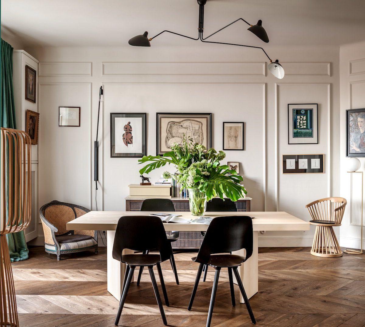 Appartamento in stile francese a varsavia foto living for Arredamento stile parigino