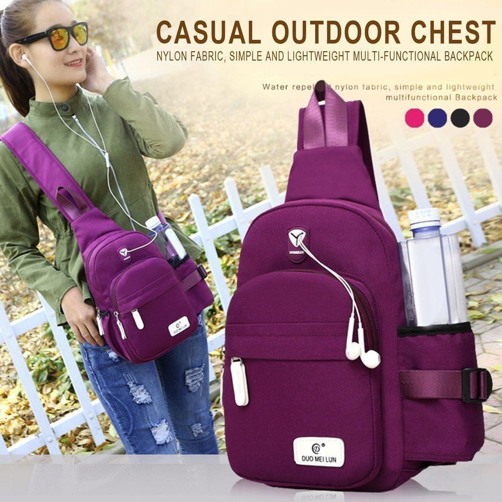 Sporting Bags For Women 2018 Unisex Outdoor Students Sport Canvas Chest Bag Phone Bag Crossbody Bags For Women сумка женская Engagement & Wedding