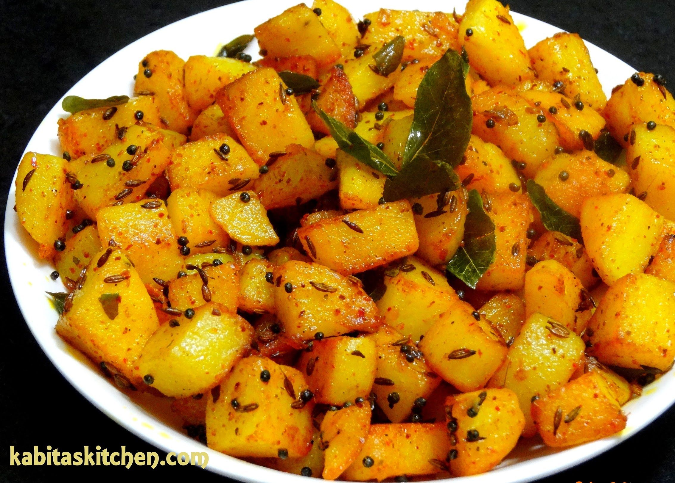 Aloo fry recipe simple potato fry for lunch box easy and quick aloo fry recipe simple potato fry for lunch box easy and quick potato re forumfinder Images