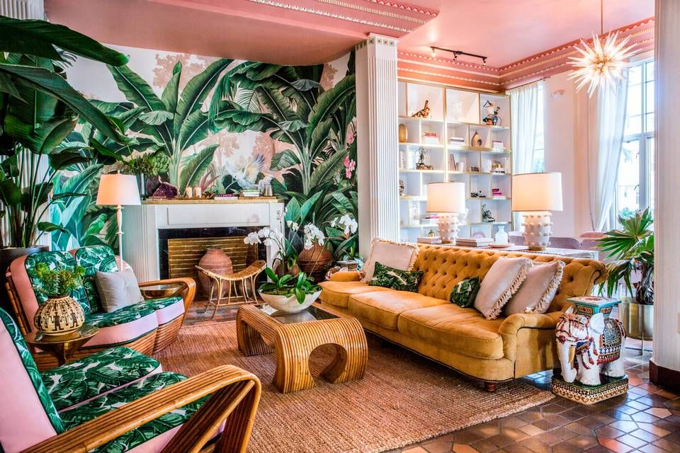 This Art Deco hotel has a new tropical look - and an ...