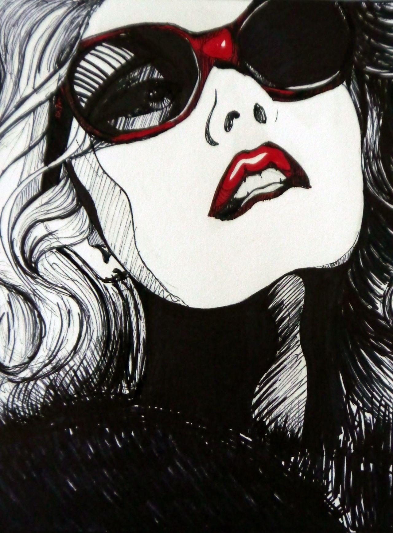 Pin Von Euralíz Auf Pop Art Illustration Pop Art Mädchen Artpop Kunstmalerei