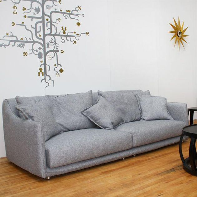 Napoli 4 Seat Sofa Charcoal Or Pale Grey Matches The