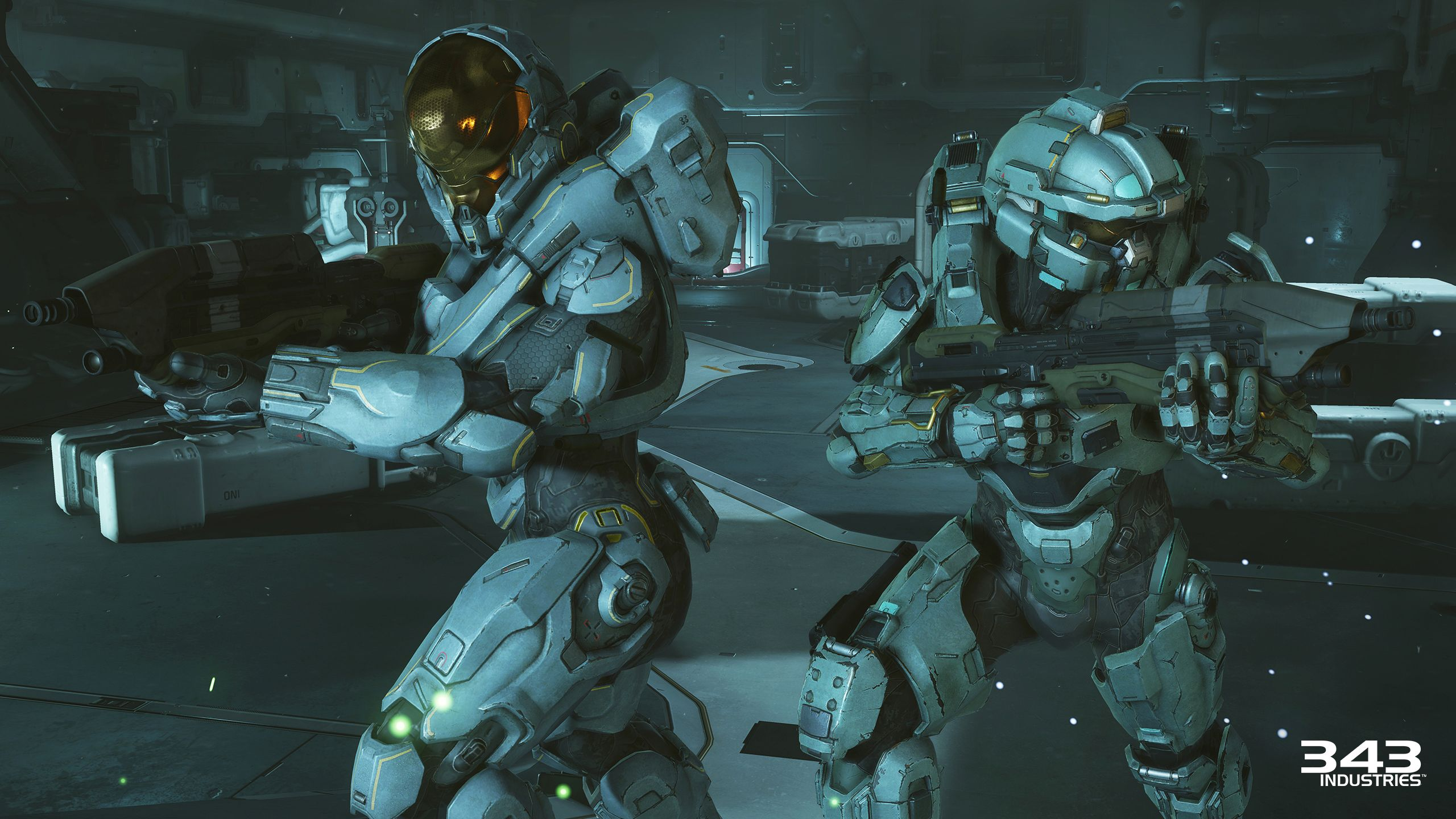 Halo 5 Guardians Blue Team Fred And Kelly Halo 5 Halo 5