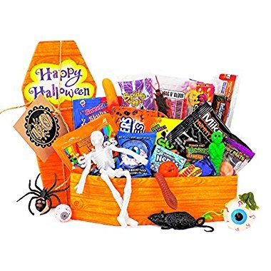 Halloween Deals for \u0027Some Mummy Loves You\u0027 Gift Basket - Coffin of