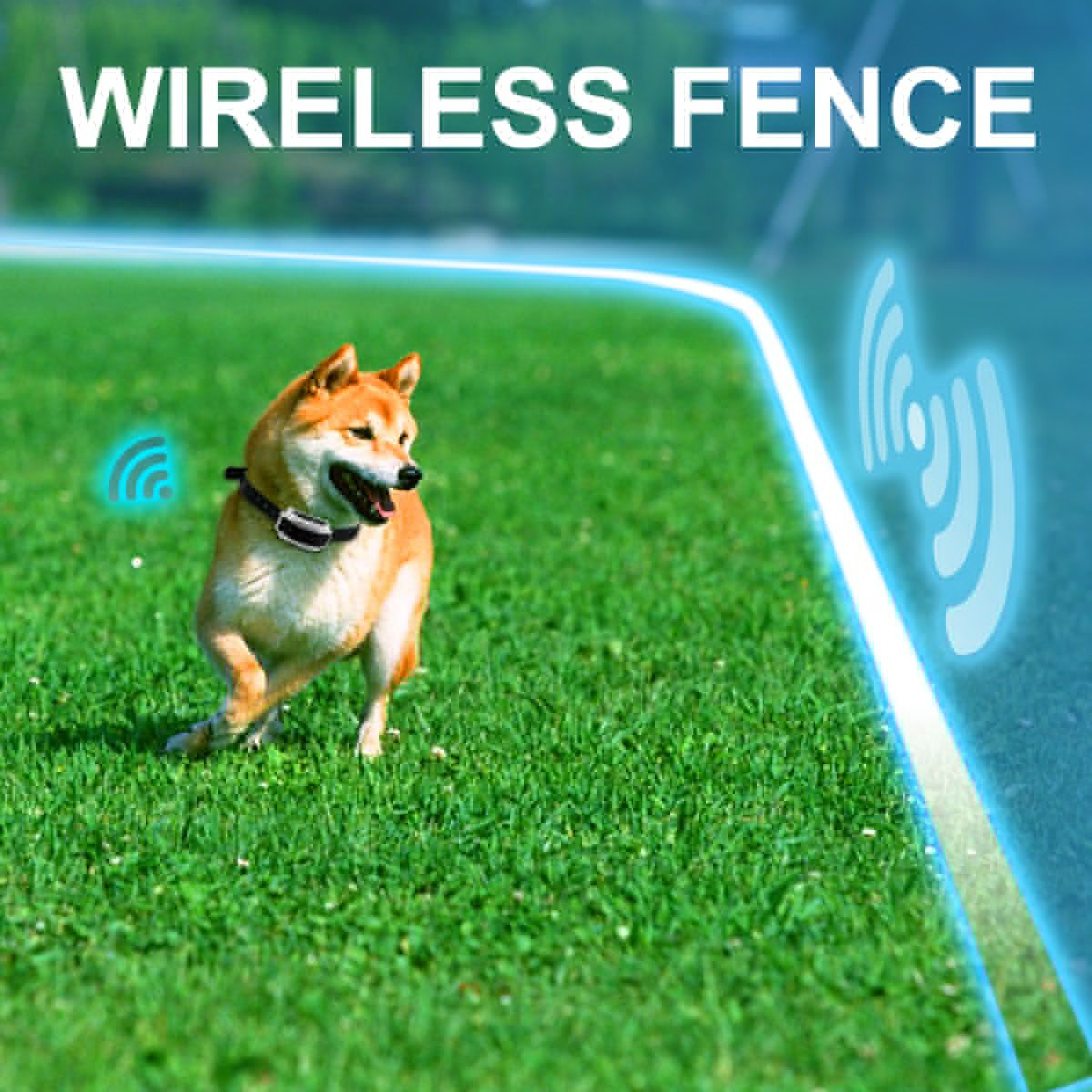 Pet Protection Containment System Outdoor Wireless Invisible Fence Kit Wireless Dog Fence Dog Training Collar Dog Fence