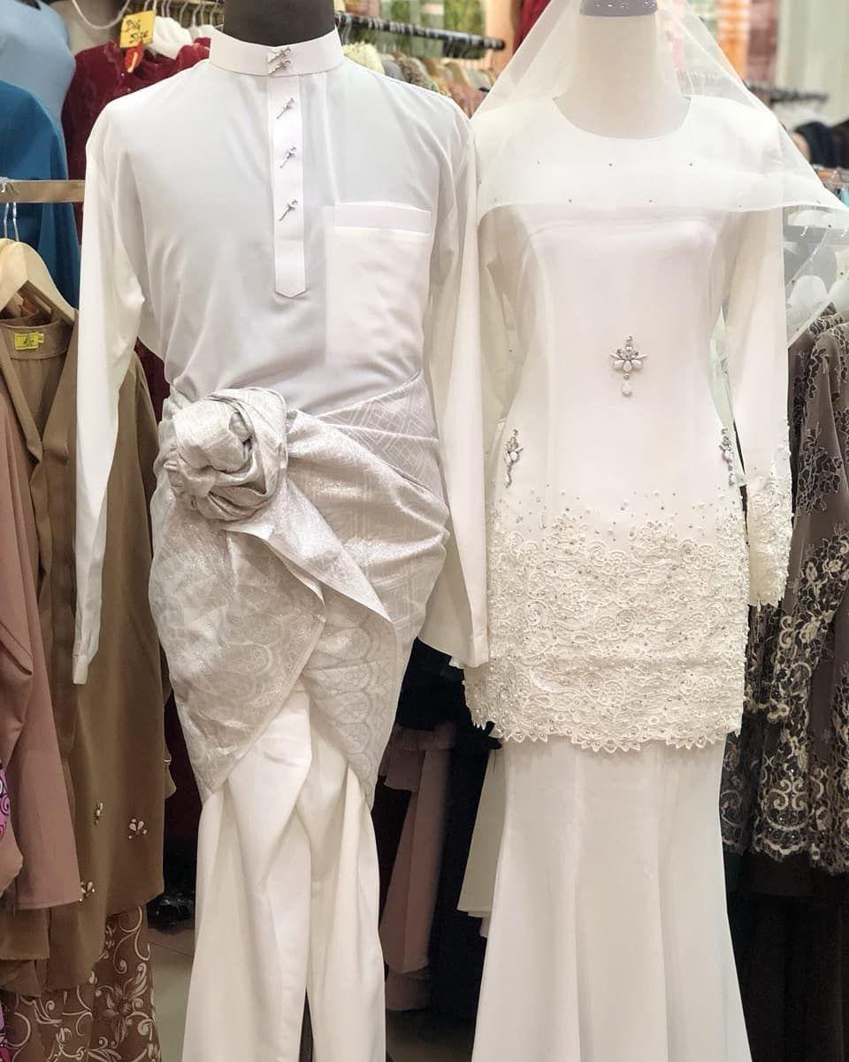 Kurung Nikah Putih Exclusive Baju Nikah Putih In 2019 Wedding