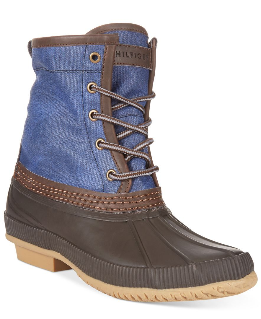 0753316ab2cc72 Tommy Hilfiger Men s Collins Waterproof Duck Boots
