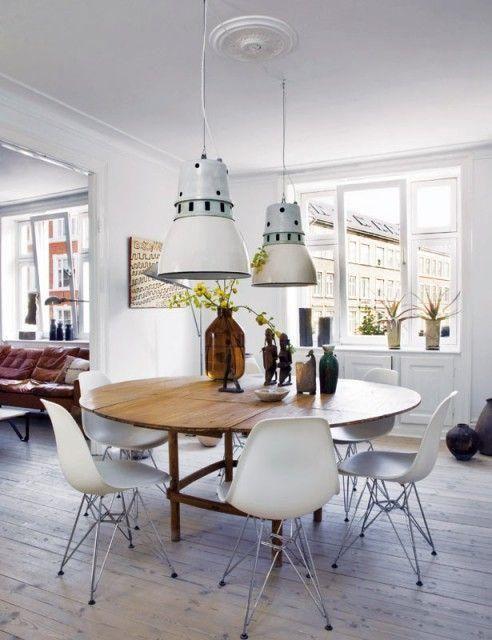 Salle à manger  table ronde ou rectangulaire table Pinterest
