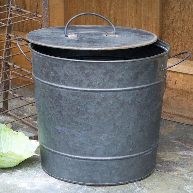 Attrayant Kitchen Compost Bucket | Metal Compost Bucket | Compost Pail | Compost  Container