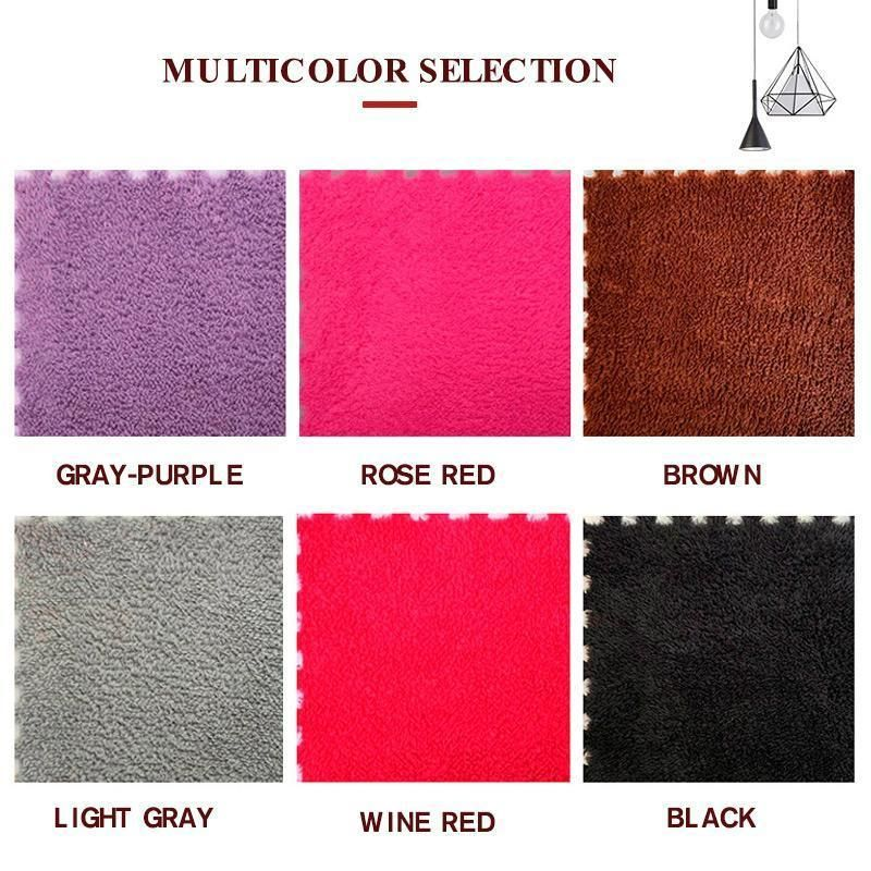 Photo of Square Puzzle Mat – wine red / 8pcs (Save $9.97)