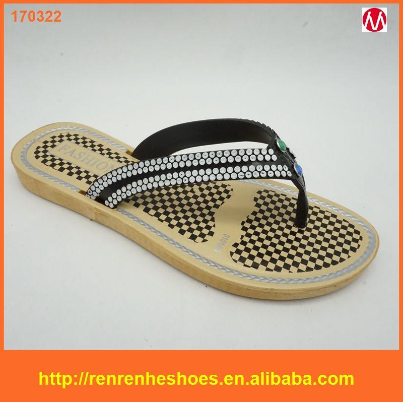 06aead89074 2017 Wholesale Cheap Beach Sandal pcu Slipper