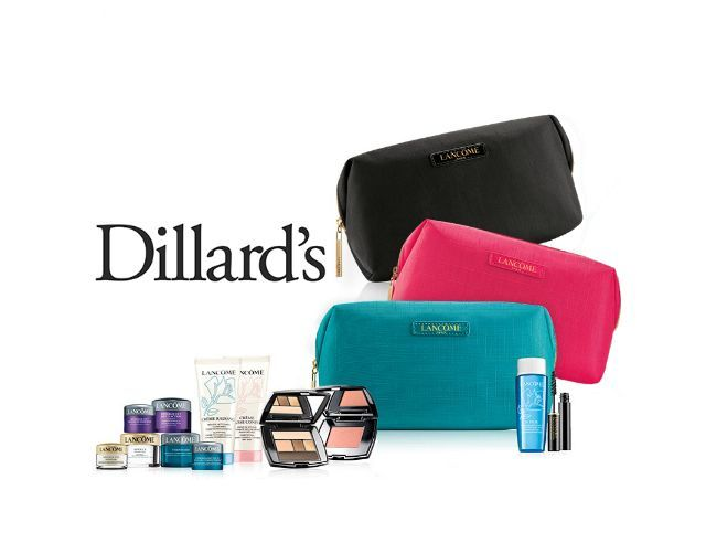 Dillard S I Free 7 Piece Gift With Any 35 Lancome Purchase W P
